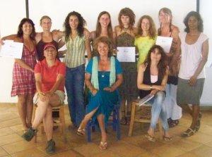 1st graduating class in Ikaria Greece.