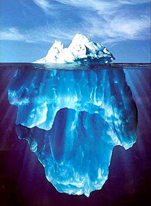 "OUR SYMPTOMS are just the ""tip of the iceburg"""