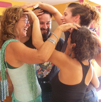 Fun classes-How bodyTalkers greet each other with Cortices tap outs